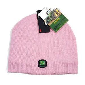 John Deere WorkWear Knit Pink Hat